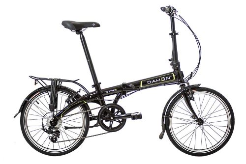 Dahon Vybe D7 Black Folding Bike