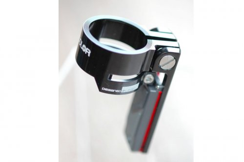 Colorplus Rear Light Red Double-Lock Seat Clamp