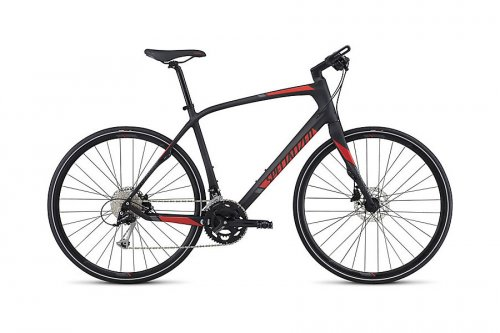 2017 Specialized Sirrus Sport Carbon Hybrid Bike