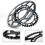 Rotor Q-Rings Road Chainrings130 PCD 53/39 Black