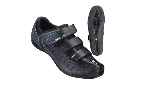The women's Taho mountain bike shoes made by Specialized that I bought at Montgomery Cyclery saved the day for my feet! Truly amazing was the result that