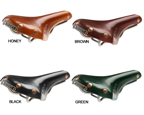 Brooks Swift Titanium Leather Saddle