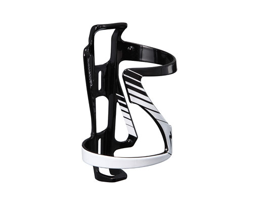 Specialized Zee Bottle Cage Side Load Left Dt White Black