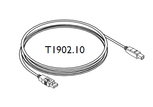 Tacx T1902.10 Imagic Usb Cable