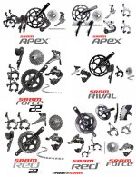 Sram Mix & Match Apex Rival Force Red Groupset