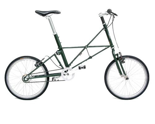 Moulton TSR 8 Separable Bike Green