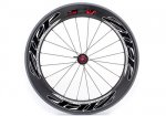 2012 Zipp 808 Firecrest Carbon Clincher Rear Wheel Beyond Black