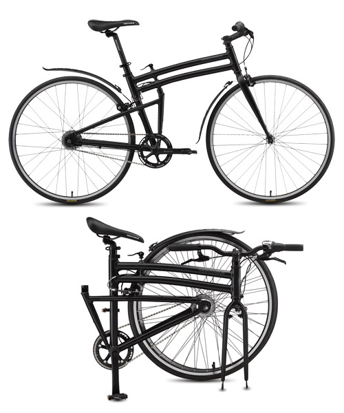 Montague Boston 8 Folding Bike Matt Black