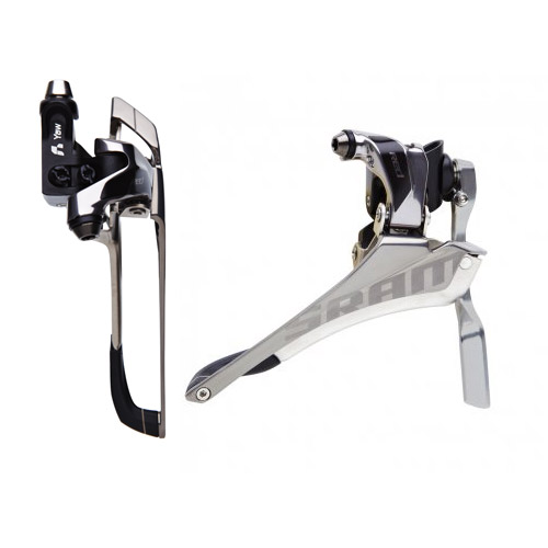 Sram Red Front Derailleur Brazeon With Chain Spotter