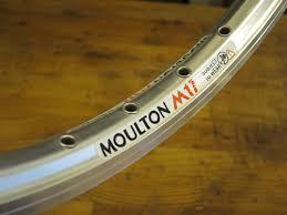"""Moulton Rim 17""""  Silver"""