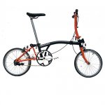 2012 Brompton S1E Black/Orange Bike