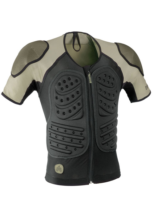 Bluegrass Grizzly D3o Back And Shoulder Tee Black