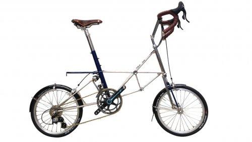 Alex Moulton AM GT Royal Blue Separable Bike