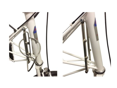 Head Tube Bottle Mount Stainless (AM Speed , AM20, AMGT ETC)