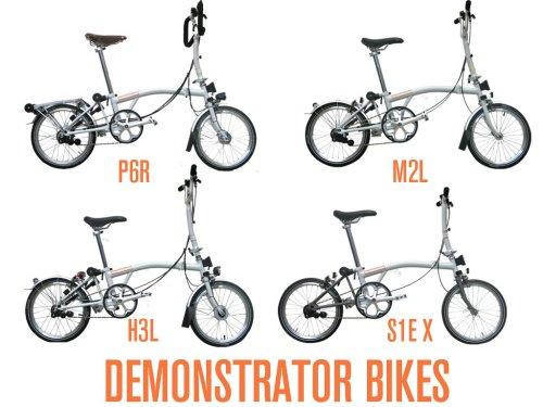 Demo Brompton Bikes