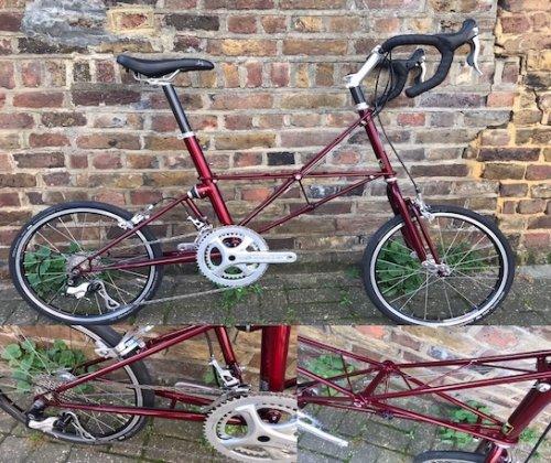 MOULTON TSR M22 campag Potenza Complete Bike
