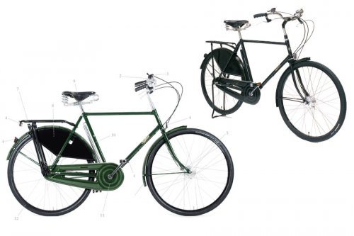 Pashley Roadster Classic Traditional Bike