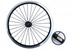 Brompton Front Wheel Radial Lacing Black Edition