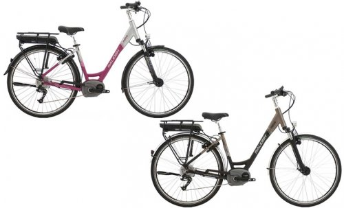 Raleigh Motus Step Thru Electric Bike