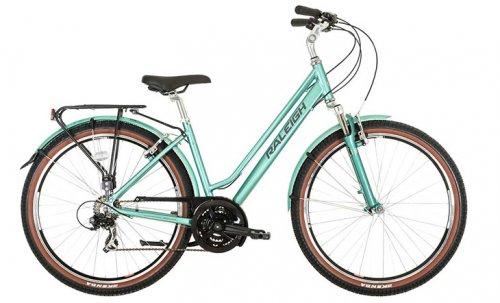 Raleigh Pioneer Trail Low Step Frame Hybrid Bike