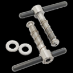 Brompton Tibolts & Washer Hinge Clamp Set