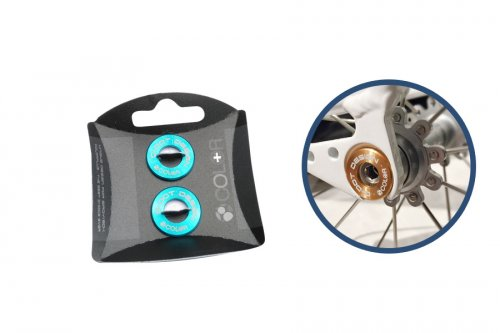 Colorplus Birdy Disc Safety Spacer Cyan