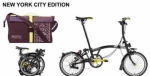 2017 Brompton S6L NYC Edition with Bag