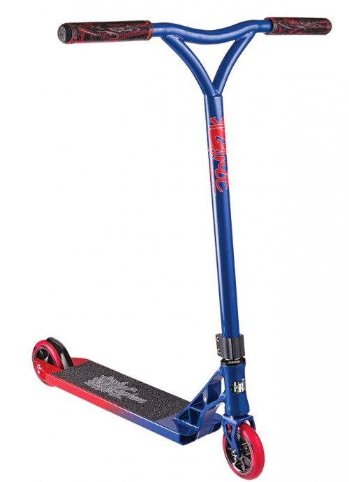 Grit Mayhem Complete Scooter - Blue/Red