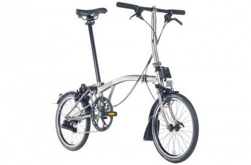 2017 Brompton S2L Superlight Nickel