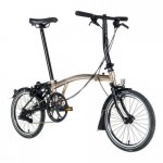 2017 S6L Brompton Nickel Black Marathon