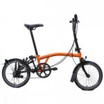 2018 Brompton M6L Black Edition Orange