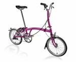 2017 Brompton M3L Berry Crush