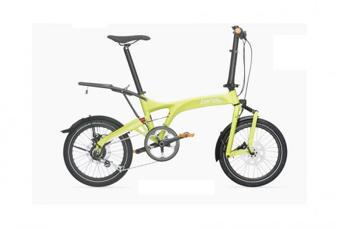Birdy City Lime Comfort Carrier And Lowrider