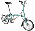 2018 Brompton M6L Turkish Green