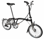 2018 Brompton M6L Black Superlight
