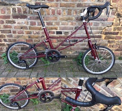 Moulton TSR 18 Drop Bar Bike
