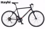 Shogun Hayhi Urban Bike 1 x 8 speed Black