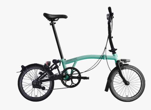 2019 Brompton M6L Black Edition Turkish Green