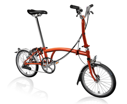 2020 Brompton M6L Flame Lacquer