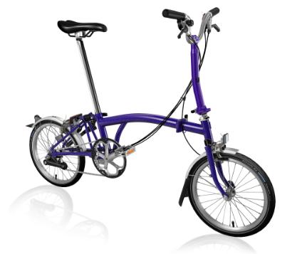 2020 Brompton M6L Purple Metallic