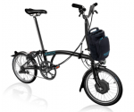 2019 Brompton Electric H6L Black