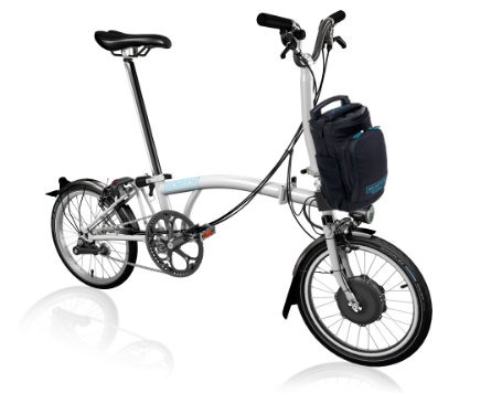 2019 Brompton Electric H6L White