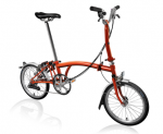 2019 Brompton M6L Flame Lacquer