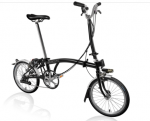 2019 Brompton H6L Black with Battery Lighting
