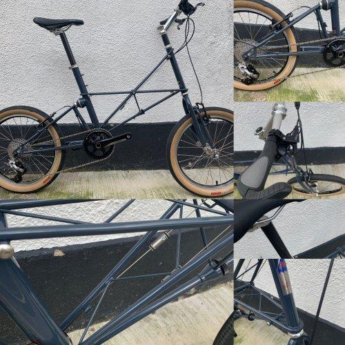 Moulton TSR Rival Gravel custom Bike