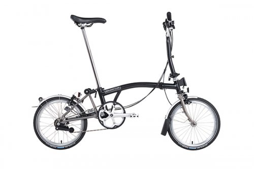 2019 Brompton M6L Balck  SUPERLIGHT Titanium