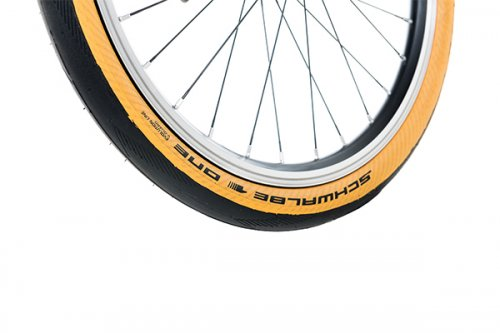 Brompton TAN WALL Schwalbe ONE tyre