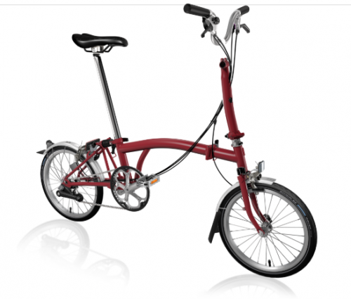 2020 Brompton H6L House Red