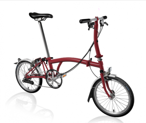 2020 Brompton S6L House red
