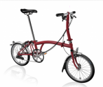 2020 Brompton S6L House red Home Delivery